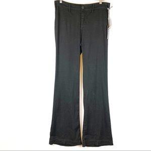 NYDJ Wide Leg Linen Blend Trouser